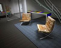 Study for an Interior design