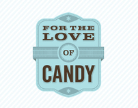 For The Love Of Candy Branding