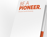 Carroll University Admissions Pocket Folder