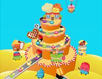 Propuesta de juego Cupcakes