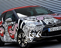 Urban Art City Car