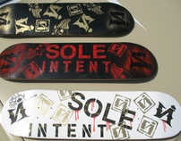 Sole Intent Skate Decks