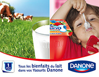 Danone Corporate campaign - Goodness of milk 2013
