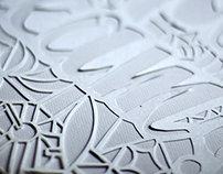 Papercutting / Blanco