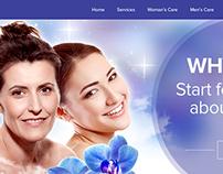 Web Design for MVC Laser & Med Spa