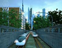 Railway Track & Barrier