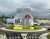 The Centaurus Mall  - OOH (roundabout)