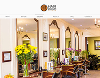 WebSite for NYC based Hair Salon