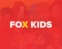 FOX KIDS Project UI/UX Design