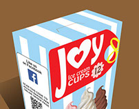 Joy Ice Cream Cone Package Design