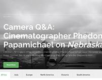 Camera In The Sun Website