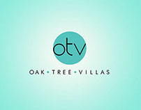 Oak Tree Villas Branding