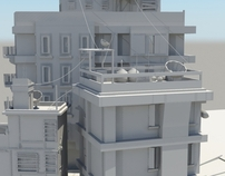 Beirut 3D Environment Modelling Project