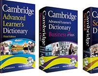 Cambridge Dictionary cover designs