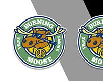 Burning Moose Logo