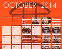 October 2014 UC Calendar