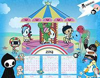 Tokidoki Calendar Collage