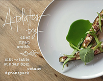 Pop-Up Dinner: Chef Ryan Smith's 4 Plates at Octane