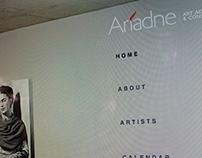 Ariadne Art Advisory //web design