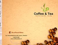 carta triptico B - Coffe and tea