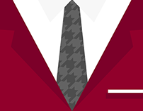 Suit Phone Wallpapers: College Football Edition