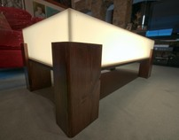 Light Box Coffee Table