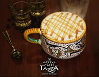 Caffe Tazza Magazine Ads