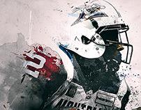 CFL: 'Scratch' Digital Illustration Series
