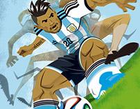 """Copa América 2015 - Sergio """"El Kun"""" Agüero"""