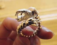Viper Fish Ring