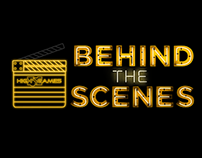 Behind the Scenes Title Slide