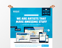 Design Services Flyer/Poster Template (Web/App/Graphic)
