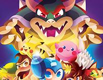 Super Smash Bros Tribute!
