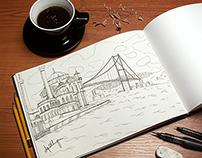 Istanbul Turkey - Sketch