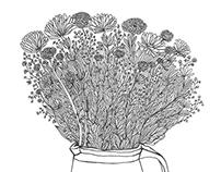 flowers grafic