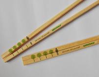 Greenpeace  Chopstick