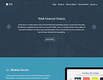 "TFS Product Page ""One Page"""