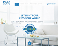 PVC Window Installation - Web Design