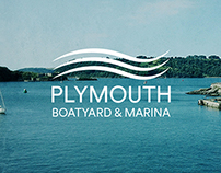 Plymouth Boatyard & Marina - Branding