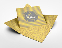 Invitation and Greeting Card Mockup V3