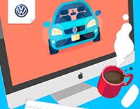 Experiencia Volkswagen Website
