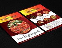 Flyer A5 F/R Benedetti's Pizza