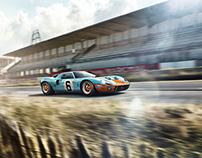 Race Classics | Ford GT40 - CGI