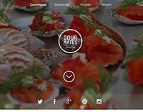Gourmates - Web Design