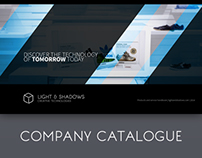 """Light & Shadows"" Company catalogue"