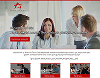 Anadolu Group - Microsite