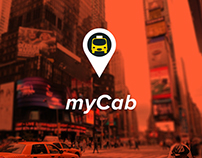 myCab app concept