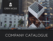 """Open Mode"" Company catalogue"