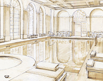 Architectural Illustration - Interiors