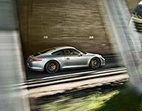 Porsche 911 GTS - Retouching